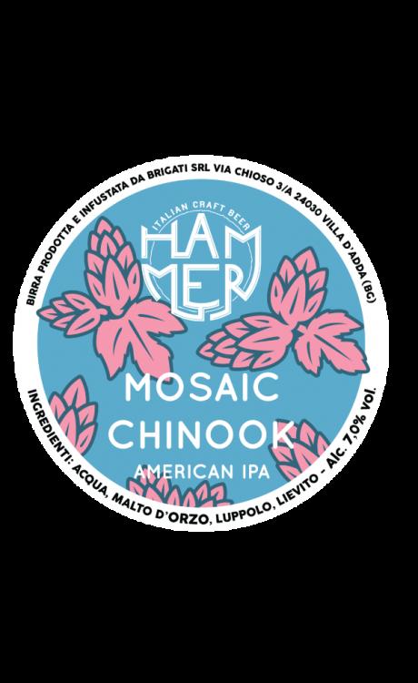 American IPA Mosaic + Chinook