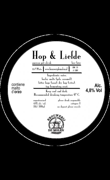 De Molen - Hop & Liefde (Pale Ale Citra)