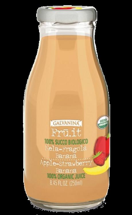 Galvanina Succo Bio Mela Fragola Banana