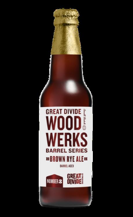 Wood Werks #3 Barrel Aged Brown Rye Ale