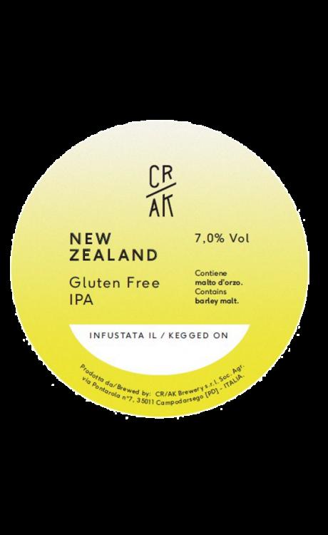 Crak Brewery - New Zealand Gluten Free IPA