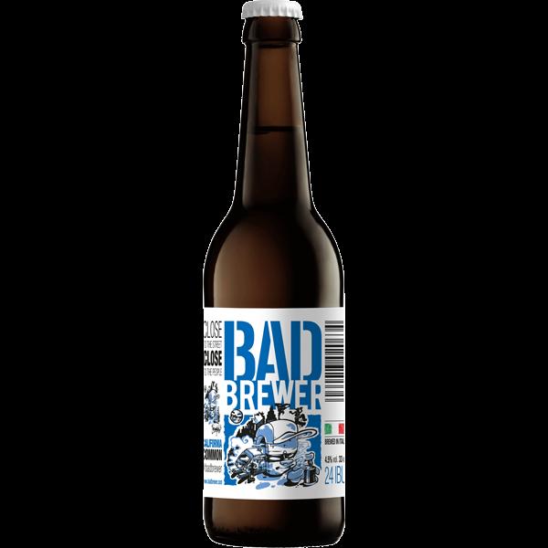 vendita birra bad brewer california common bad brewer. Black Bedroom Furniture Sets. Home Design Ideas