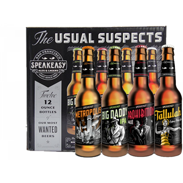Vendita Birra Speakeasy Variety Pack Speakeasy Ales and Lager ...