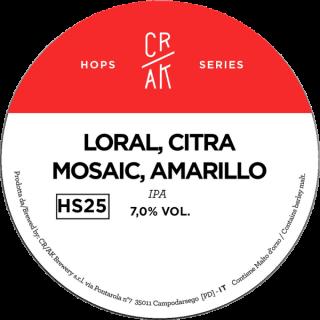 Neipa Loral - Citra - Amarillo - Mosaic