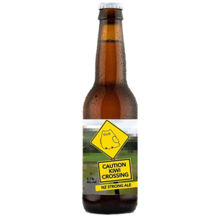 Caution Kiwi Crossing