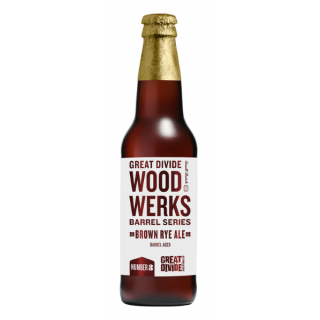 Wood Werks #3 Barrel Aged Brown Rye Ale