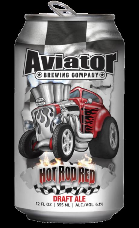 Aviator Hot Rod Red