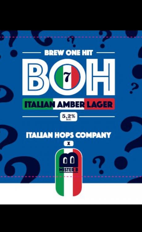 BOH 7 Italian Amber Lager
