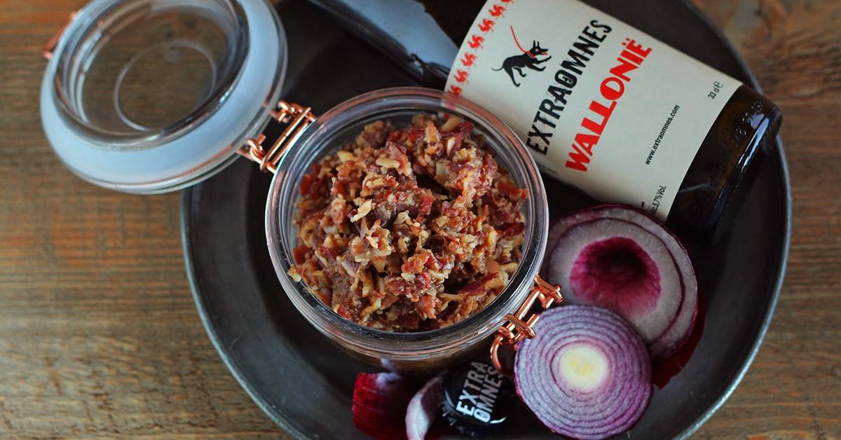 Confettura di cipolla e bacon alla birra
