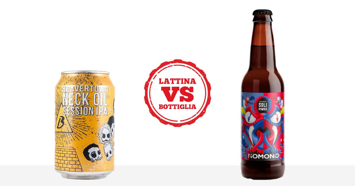 Birra artigianale: lattina vs bottiglia. Ecco quali sono le differenze