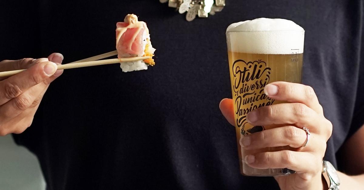 5 stili di birra da abbinare al Sushi