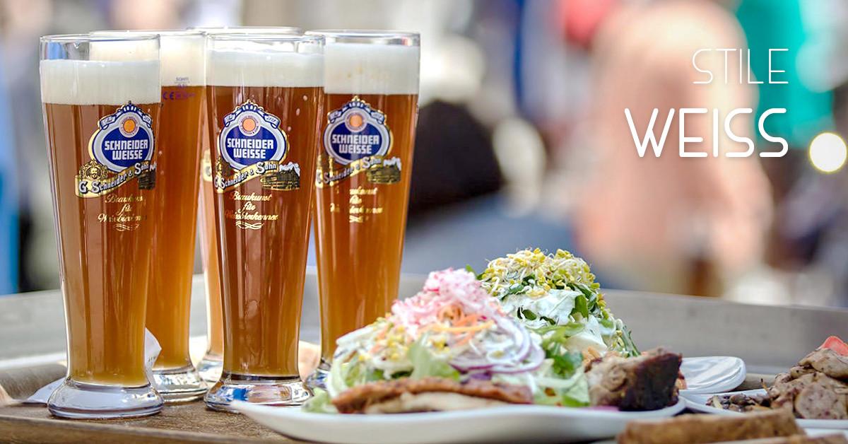 Birra stile Weiss: Caratteristiche e Abbinamenti cibo consigliati