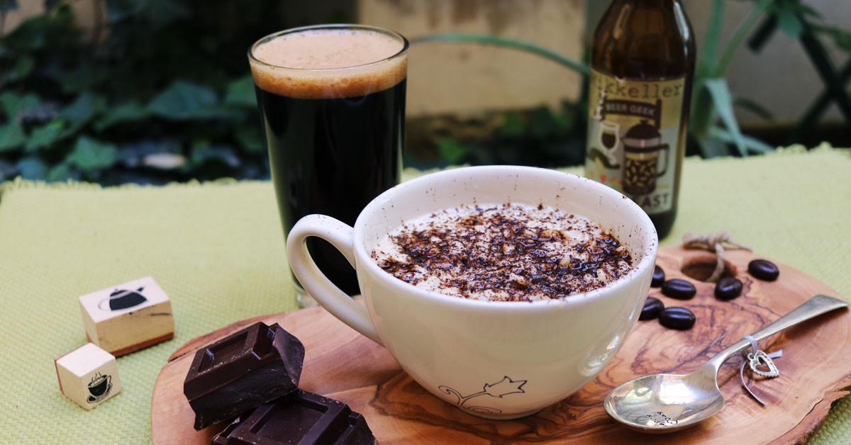 Risotto alla Crema di Parmigiano, caffè e riduzione di birra stout
