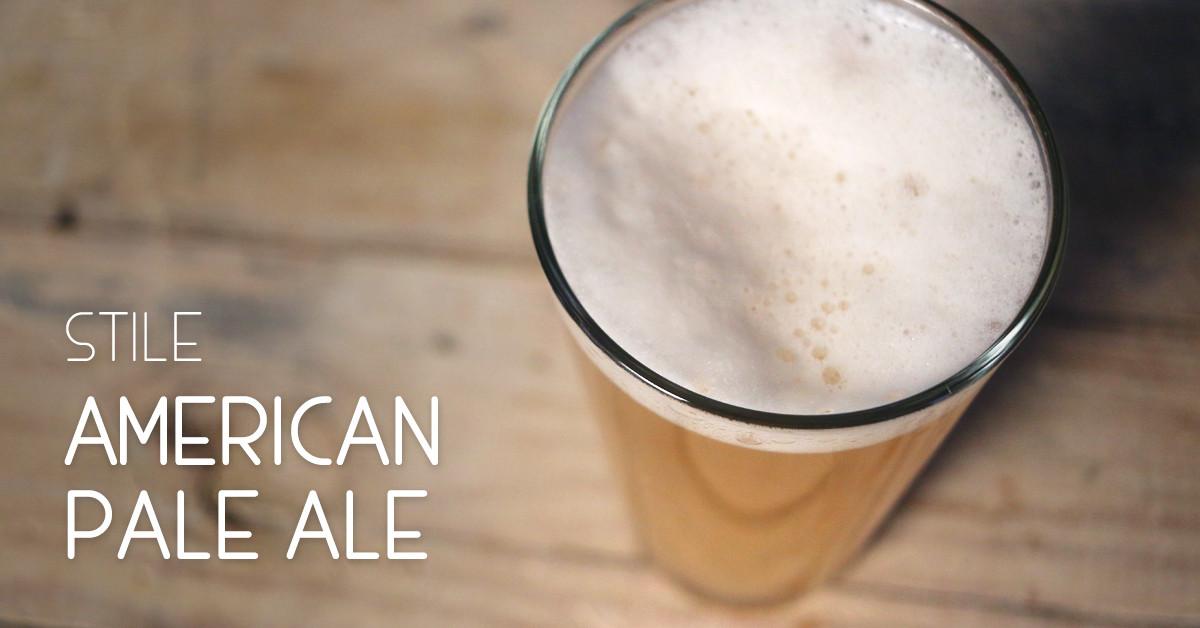 Birra stile APA American Pale Ale: caratteristiche e abbinamenti cibo consigliati