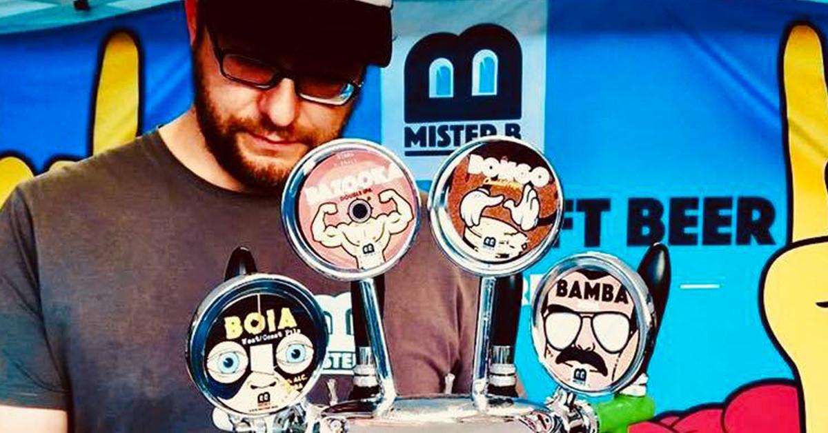 Intervista con il birrificio artigianale Mister B, i king delle lattine