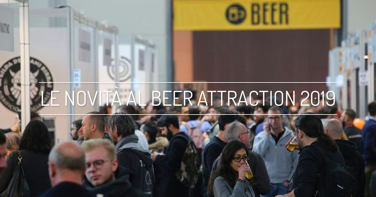 Le novità del 2019 presentate al Beer Attraction