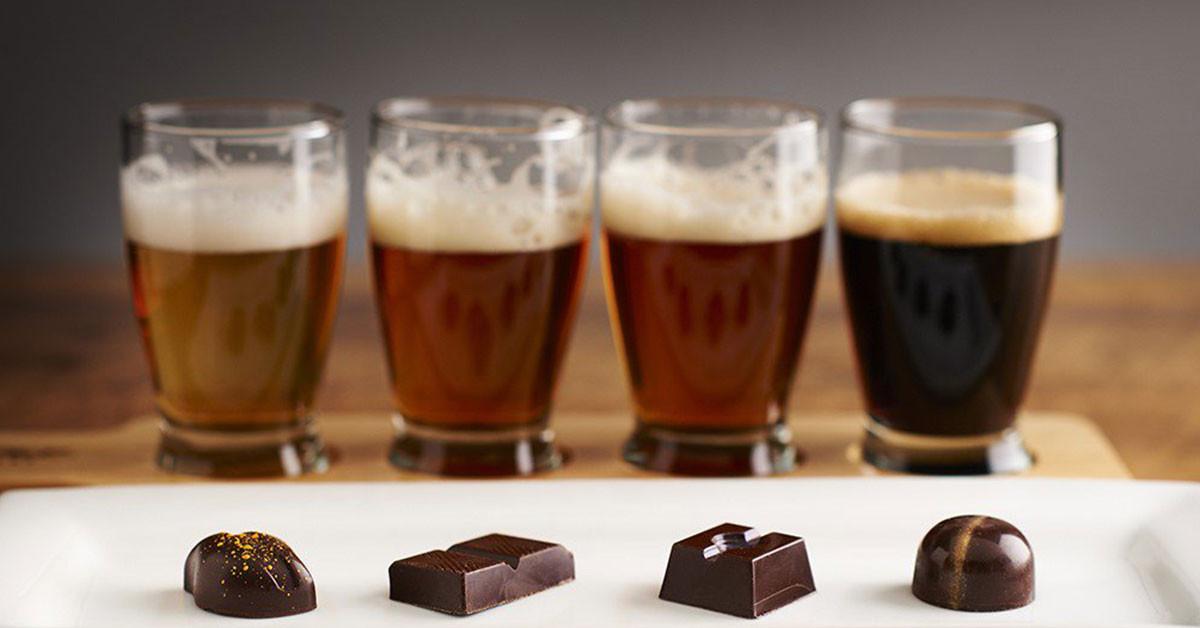 4 modi per abbinare birra e cioccolato