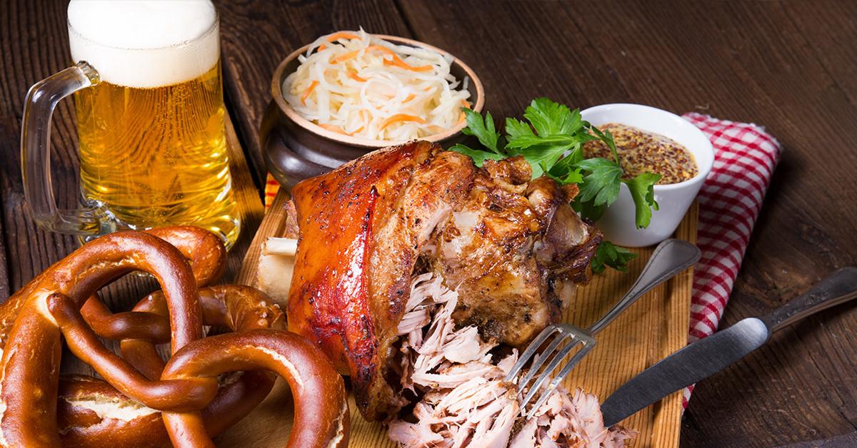 5 piatti che sicuramente mangerete durante l'Oktoberfest