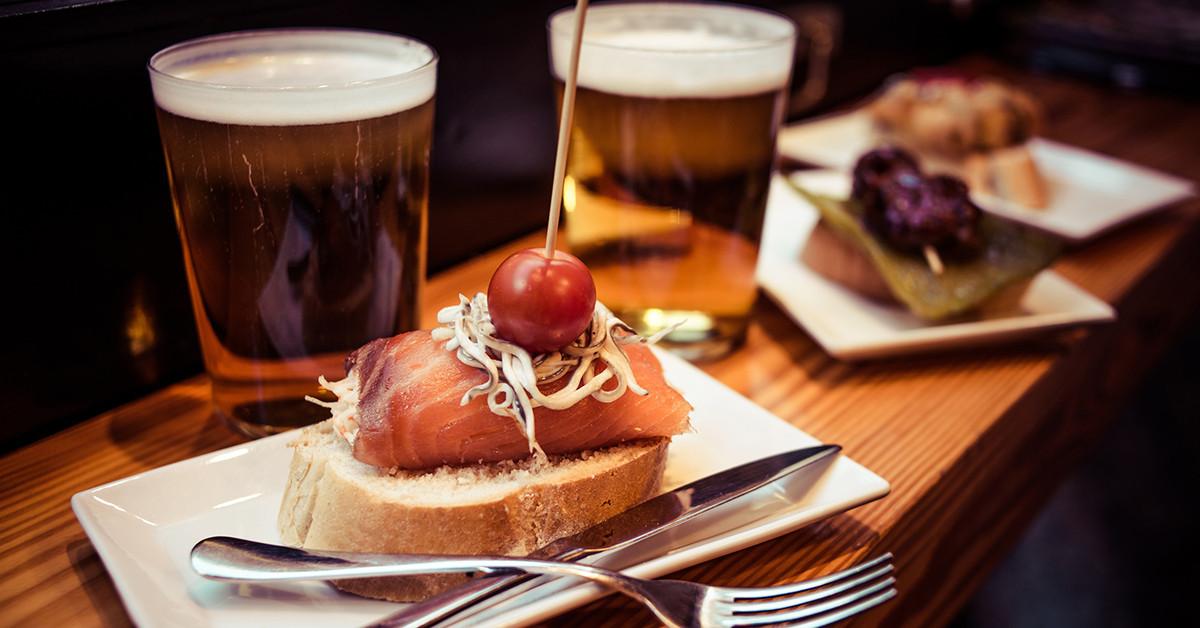 6 stili di birra da abbinare a ricette di pesce
