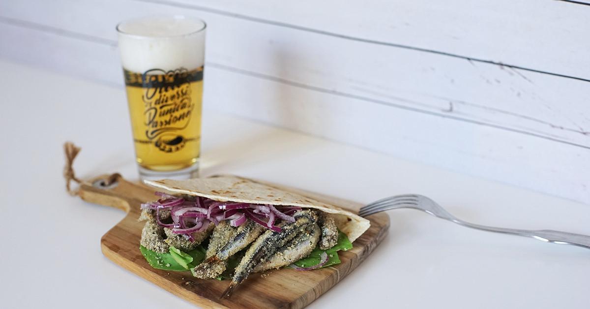 5 piadine romagnole e gli stili di birra in abbinamento
