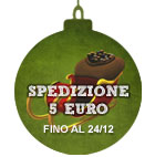 Spedizione 5 euro fino al 24 dicembre