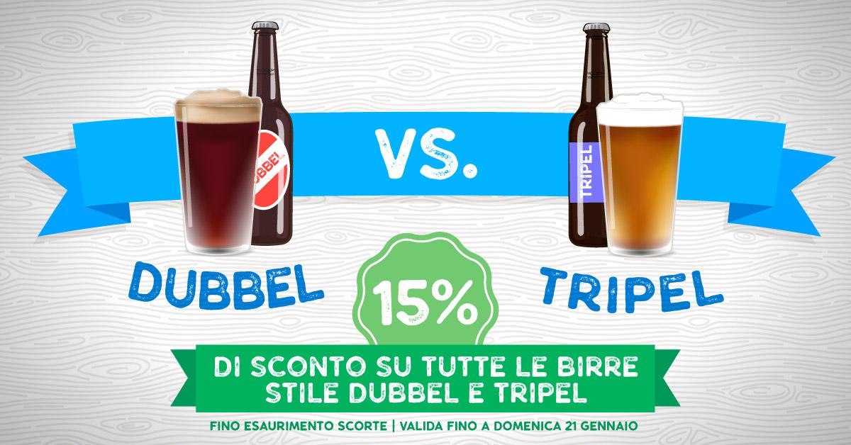 -15% su Dubbel e Tripel