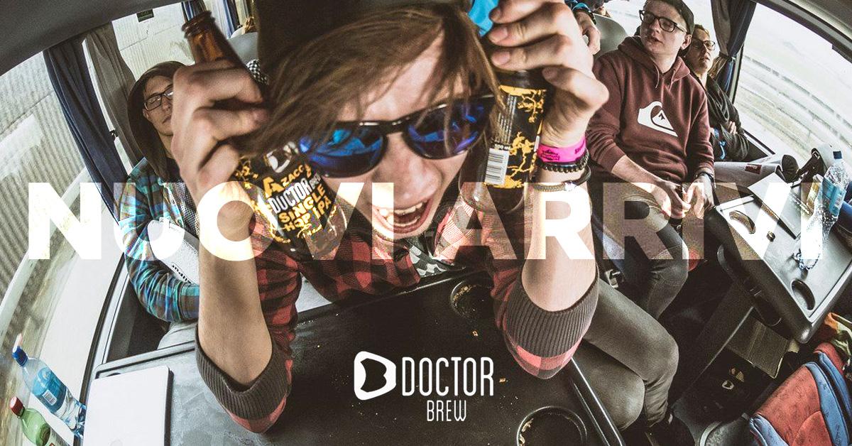 Nuovi arrivi: Doctor Brew