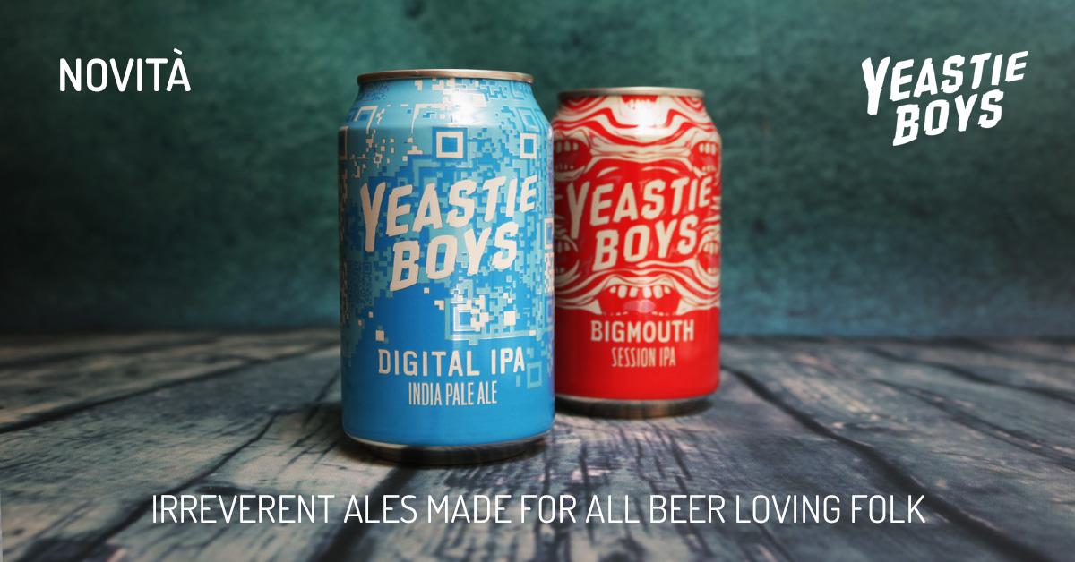 Novità: Yeastie Boys